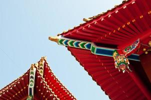 Wenwu Tempeldach in Sun Moon Lake Taiwan foto
