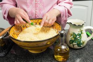 leckeres marokkanisches Couscous foto