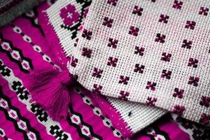 rumänisch gewebtes Tuch