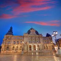 ayuntamiento de cartagena murciacity hall spanien foto
