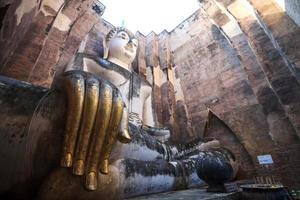 alte Buddha-Statue. Sukhothai historischer Park, Thailand