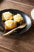 Wirbelpalmenkuchen foto