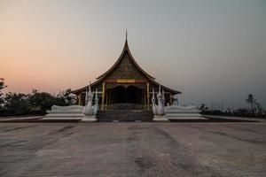 schöner Tempel, Thailand foto