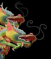 asiatischer Tempel Drache foto
