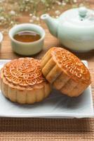 traditioneller chinesischer Kuchen foto