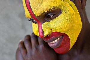 Stammesgesicht foto