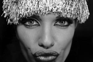Details eines schönen Gesichts foto