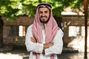 junger arabischer Mann foto