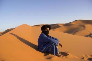 Wüste und Beduine foto