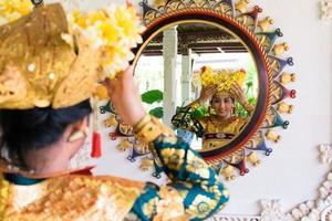 balinesische Tänzerin foto