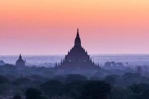 Sonnenaufgang Bagan foto