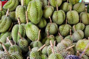 Durian Naturfrucht foto