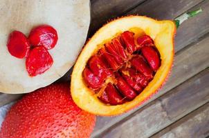Cochinchin Kürbisfrucht (Frühlingsbittergurke, Baby Jackfrucht s