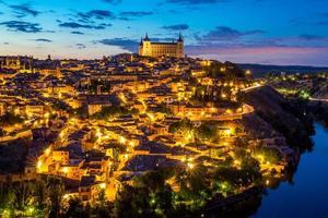 Toledo Stadtbild Spanien foto