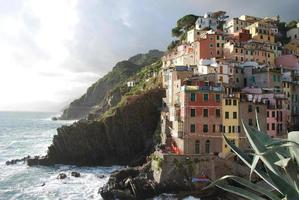 riomaggiore. Cinque Terre. Ligurien. Italien foto