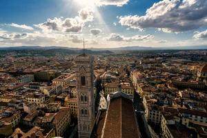 Florenz von oben foto