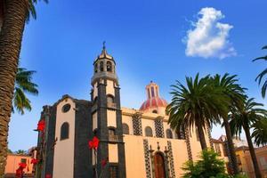 La Orotava Concepcion Kirche rote Kuppel foto