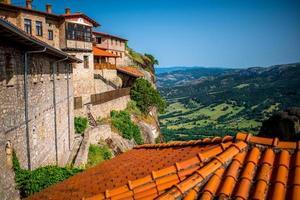 im heiligen Kloster in Griechenland foto