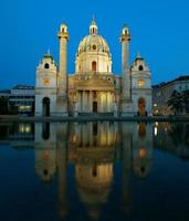 karlskirche in wien österreich foto