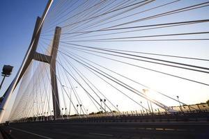 moderne Brücke foto