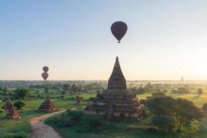 Tempel in Bagan, Myanmar foto
