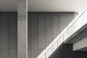 Details der modernen Architektur foto