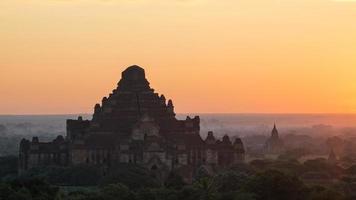 alte Pagode in Bagan foto