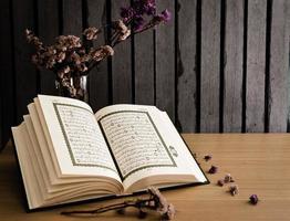 der heilige Koran foto