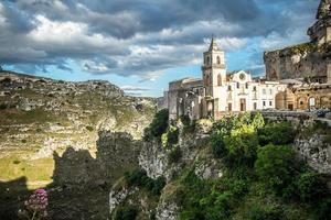Matera, die Stadt der Steine foto