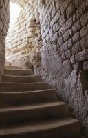 Gebäude mit Treppe aus der Kreidezeit foto