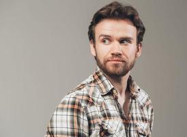 Bart Mann Porträt suchen links Studio