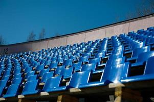 steht auf dem Stadion foto