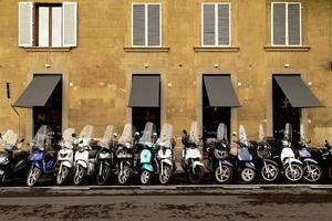eine Straße von Florenz foto