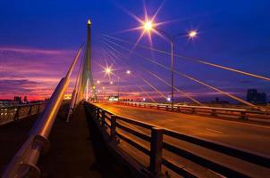 Rama VII Brücke.