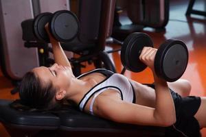 Fitnesstraining foto
