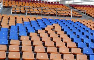 Stadionsitze für Besucher etwas Sport oder Fußball