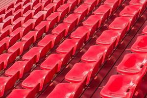 Stadionsitze. foto