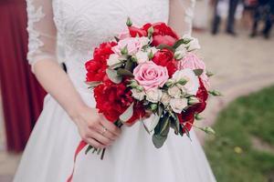 Hochzeitsblumen foto