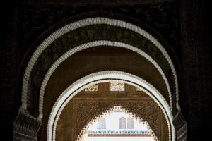 la alhambra. Granada. Andalusien. Spanien. Europa. foto
