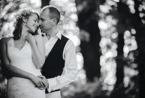 schönes Paar posiert foto