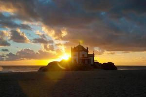 Senhor da Pedra Kapelle, Miramar, Portugal foto