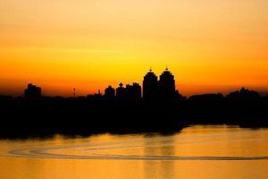 Panorama von Kiew foto