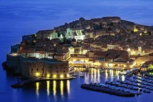 Dubrovnik in Kroatien foto