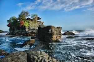 Tanah Lot Tempel Bali foto
