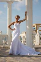 Glamour schöne Braut foto