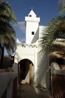 Moschee in Ghadames, Libyen foto