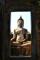 Sukhotai Ruine Altstadt Land Thailand foto