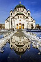 Kathedrale der Heiligen Sava foto