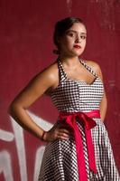 Teenager Quinceanera Sitzung foto