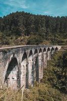 Neunbogenbrücke in ella, sri lanka foto